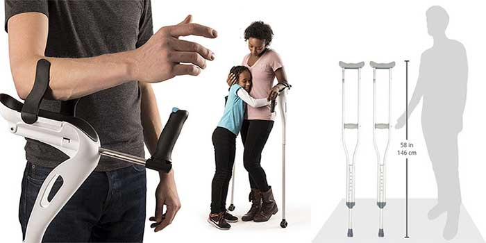 Best Crutches Review Step By Step Buying Guideline [Updated 2019]