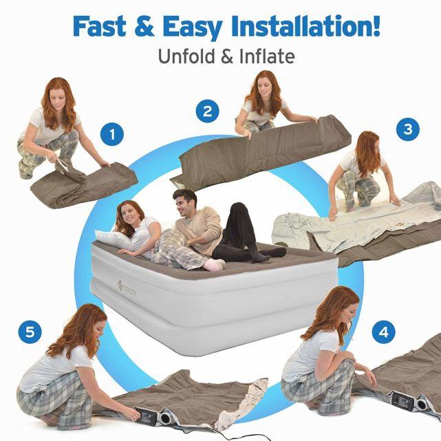 best blow up mattress